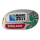 Official England Rugby World Cup 2011 Pin Badge