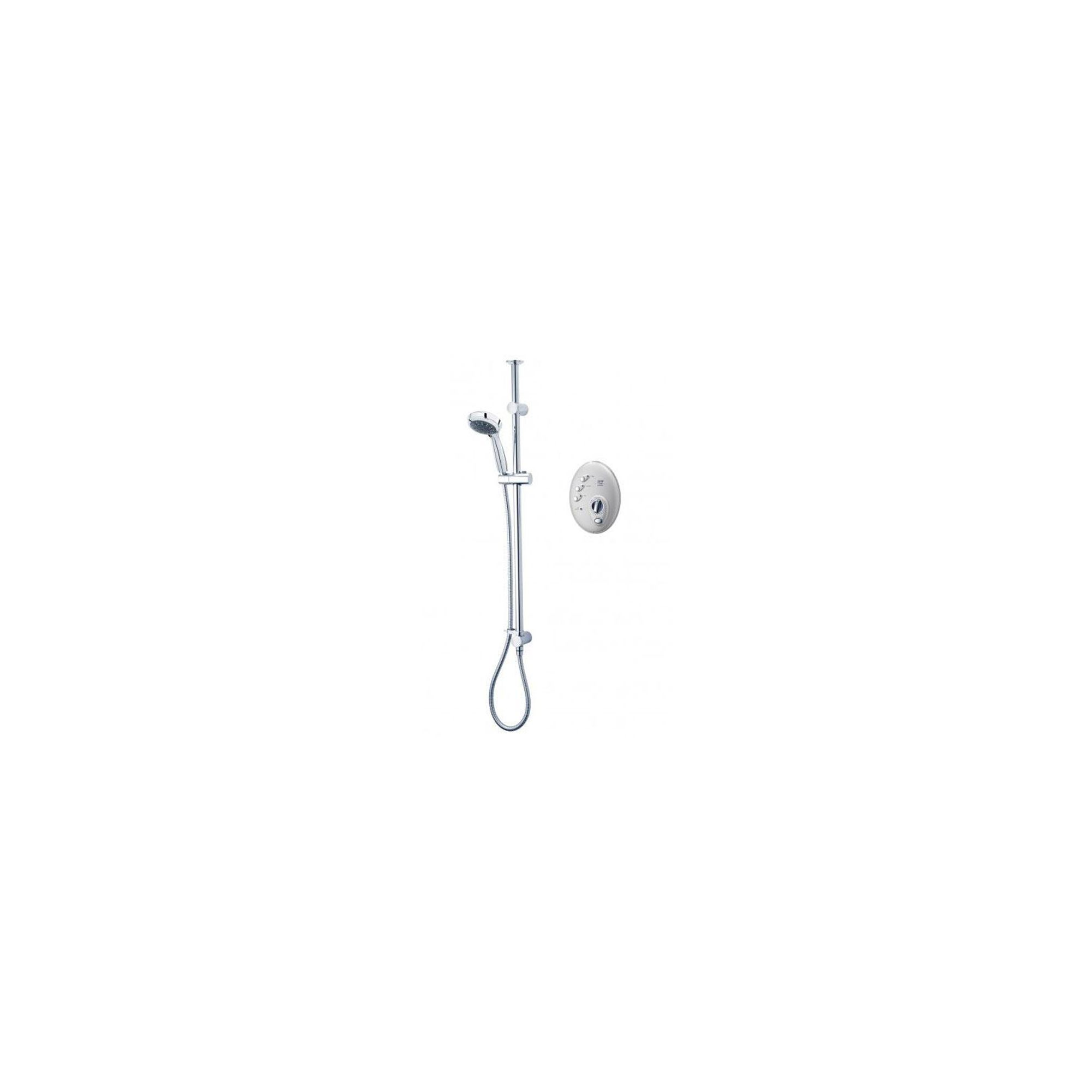 Triton T300si Digital Wireless Electric Shower Satin/Chrome 10.5 kW at Tesco Direct