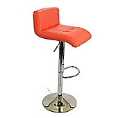 Neptune Orange Bar Stool