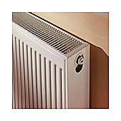Barlo Compact Radiator 300mm High x 400mm Wide Double Convector