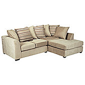 Toronto Fabric Corner Sofa Right Hand Facing, Mink
