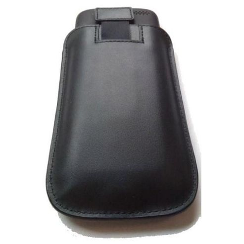 HTC 298 Po S520 Leather Pouch for Desire Phones - Black