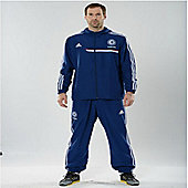 2013-14 Chelsea Adidas Presentation Jacket (Blue) - Kids - Blue