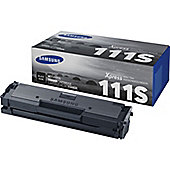 Samsung MLT-D111S Black Toner Cartridge (Yield 1,000 Pages)