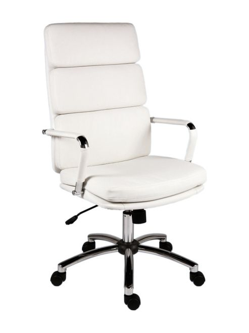 Teknik Office Deco Retro 'Eames' Style Chair - White