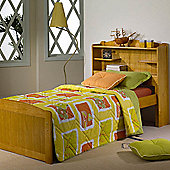 Homestead Living Bookcase single Bed Frame - Waxed