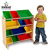 KidKraft Primary 12 Bin Unit