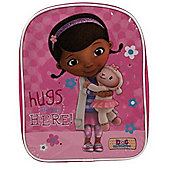Doc Mcstuffins Hugs Given Here PVC Front Backpack