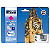 Epson T7033 Standard Ink Cartridge For Epson WorkForce Pro 4000 Series - Magenta