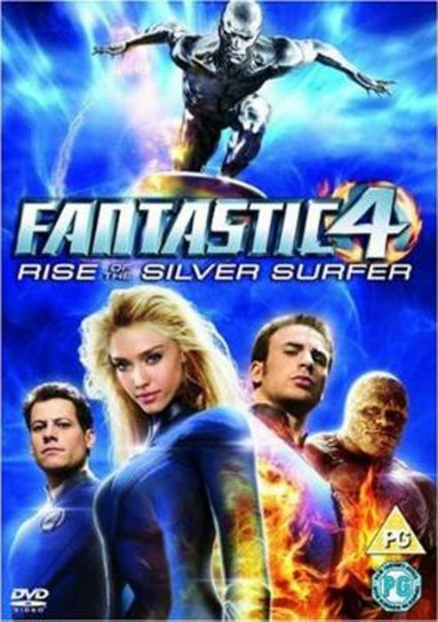 Fantastic Four - The Rise Of The Silver Surfer (DVD)
