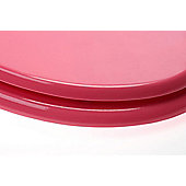 Premier Housewares Toilet Seat - Hot Pink