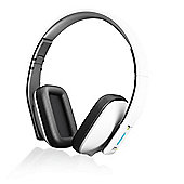 iT7x2 Bluetooth Wireless Headphones White Glossy