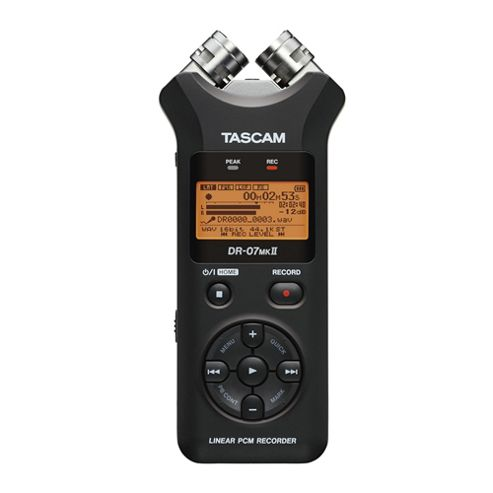 Tascam DR07 MKII Portable Stereo Recorder