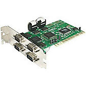 StarTech RS232 4 Port PCI Serial Adapter Card with 16550 UART