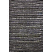 Hill & Co Jubilee Grey Stripe Rug - 240cm x 170cm (7 ft 10.5 in x 5 ft 7 in)