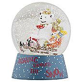 Santa Christmas Snowglobe