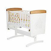OBaby Winnie the Pooh Gliding Crib (White/Pine Trim)