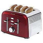 Breville VTT475 4 Slice Toaster - Aurora Red