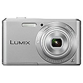 Panasonic Lumix DMC-F5EB-S Digital Camera Silver 14.1 MP 5x Optical Zoom 2.7 Inch LCD