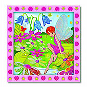 Melissa & Doug Peel and Press Sticker By Number - Flower Garden Fairy