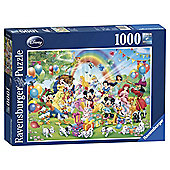Ravensburger Disney Mickey Mouse's Birthday, 1000-Piece Jigsaw Puzzle