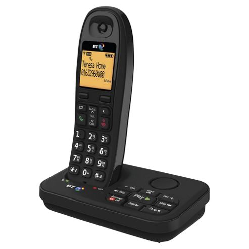 BT 3920 Cordless Phone with Answer Machine - Black