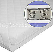 Nursery Connections Sleepyhead Spring Cot Mattress 117x53cm