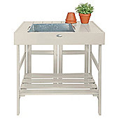 Fallen Fruits Potting Table - White