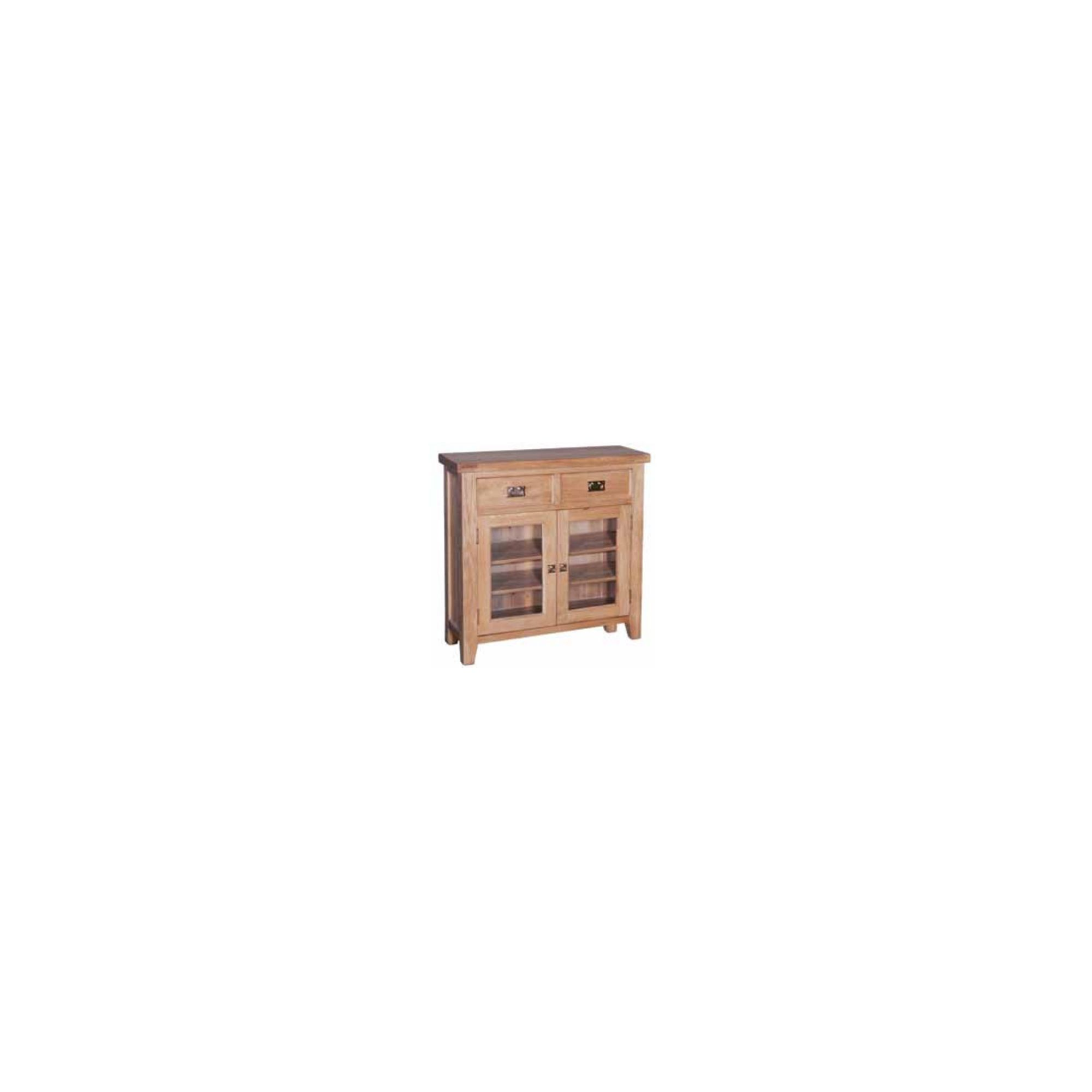 Hawkshead Elegance Small Sideboard with Glass Door at Tesco Direct