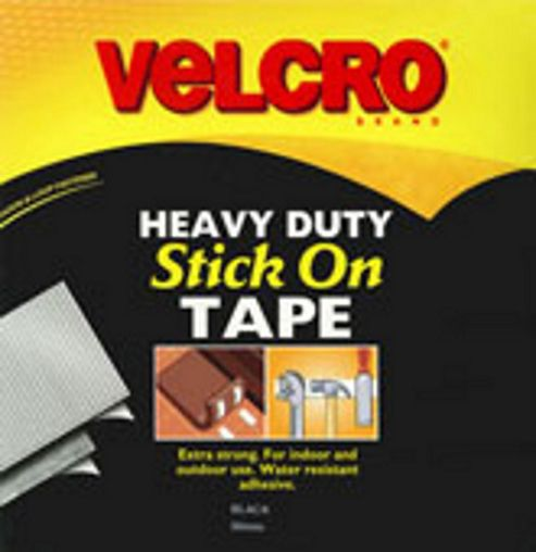 Velcro Heavy Duty 50mm - Black