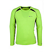 Glide Mens Long Sleeve Top - Yellow