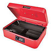 Sterling Combination Red Cash Box - Medium