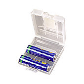 AA/AAA Battery Storage Case
