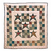 Woven Magic Country Star Crib Throw