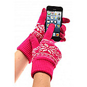 Touch Screen Gloves Fairisle