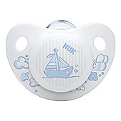 NUK Rose & Blue Size 1 Soother (Blue)