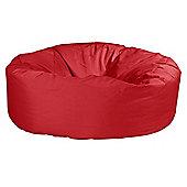 Big Bertha Original™ Indoor / Outdoor Jumbo Pouffe Bean Bag - Red
