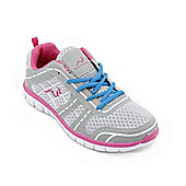 Woodworm Sports Fws Ladies Running Shoes / Trainers - Grey