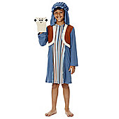 F&F Shepherd Nativity Costume - Blue & Brown