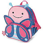 Skip Hop Children's Zoo Pack Backpack & Lunchie Lunch Bag Combo - Butterfly