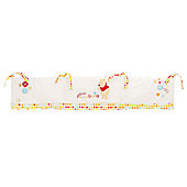 Obaby Disney Winnie the Pooh Crib Quilt and Bumper in White (2 Piece Set)
