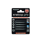 Panasonic Eneloop Pro Rechargeable 930mAh Batteries AAA 4 Pack