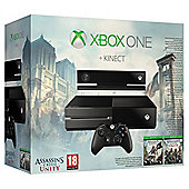 Xbox One Kinect Console With Assassins Creed Unity