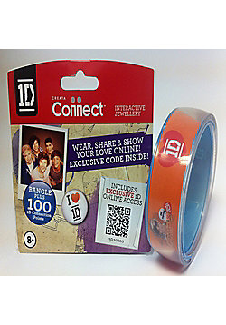 One Direction Official 1D Clear Bangle, Louis