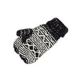 F&F Knitted Mittens with Thinsulate™ - Black