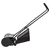 Tesco 38cm Hand Push Lawn Mower