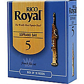 Rico Royal 2 Soprano Sax Reed (x10)