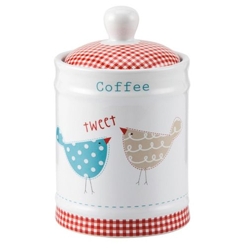 Tesco Tweet Coffee Canister
