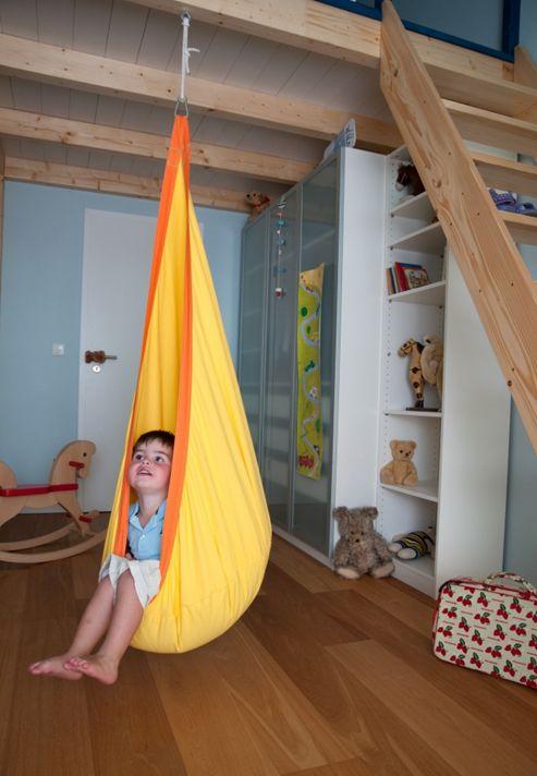 La Siesta Joki Children's Hanging Chair - Sunny