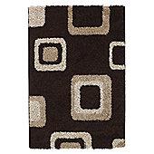 Oriental Carpets & Rugs Majesty Brown Rug - Runner 120cm L x 60cm W